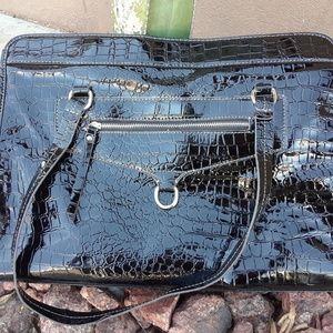 Black Pleather purse brand new
